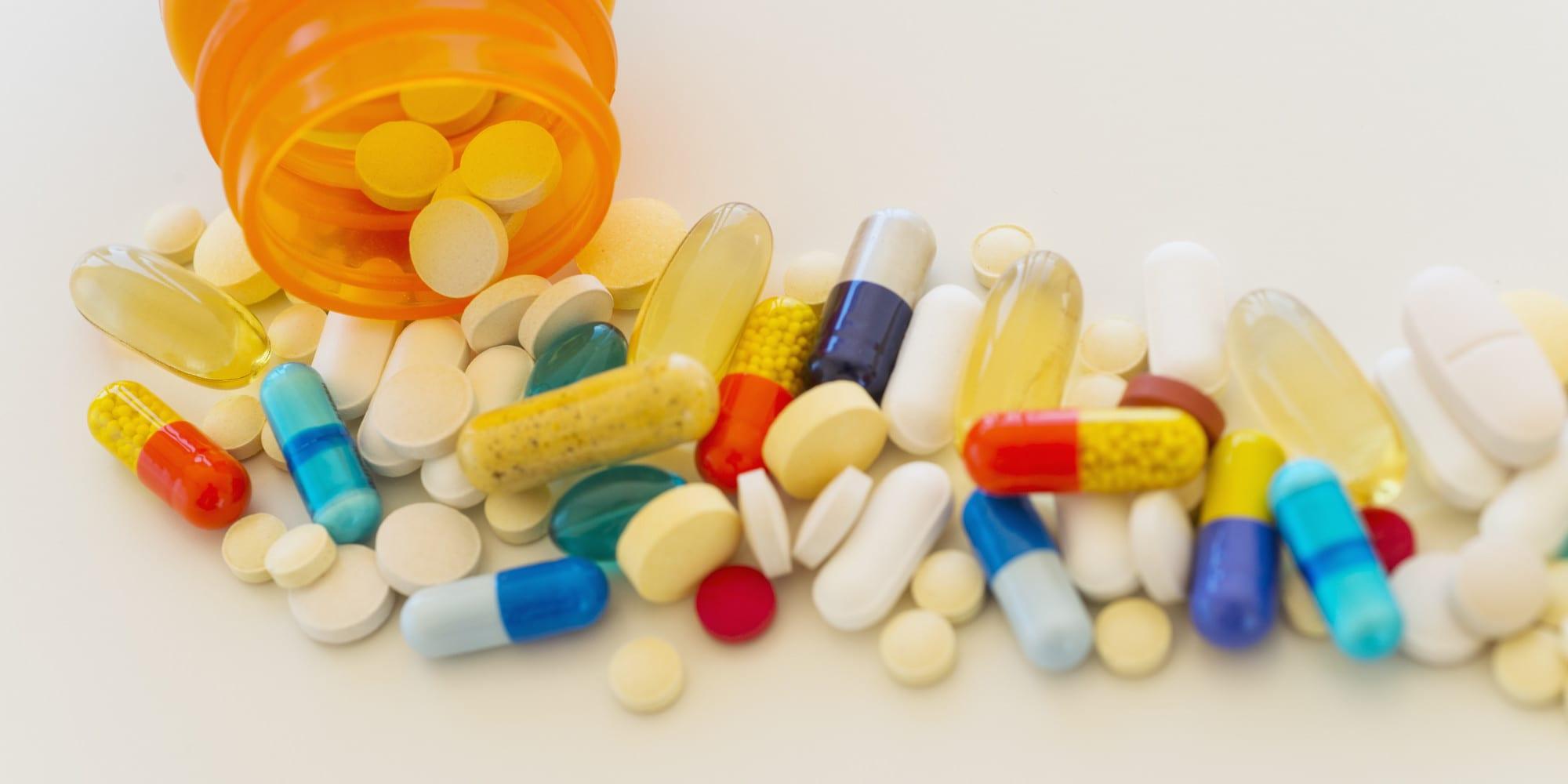 Anti-anxiety pills