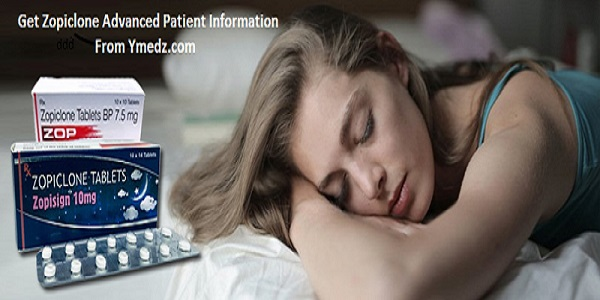Zopiclone Advanced Patient Information